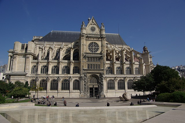 eglise saint eustache halles paris