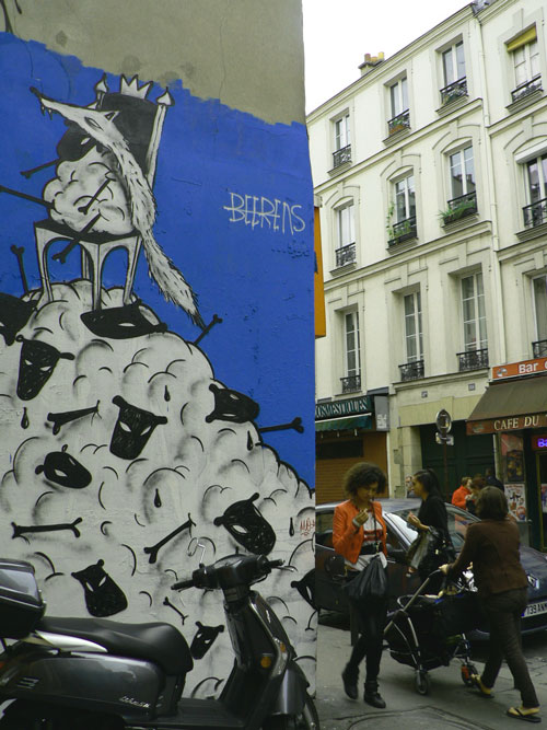 graff-rue vieille-du-temple paris