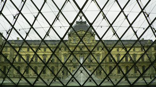 Le Louvre en extérieur