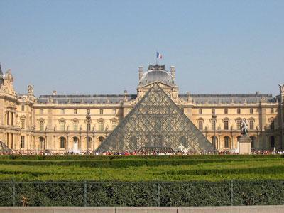 vue du carrousel et du palais