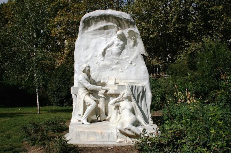 monument chopin parc monceau