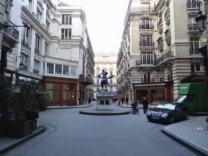 rue dans le quartier de l'opéra, Paris