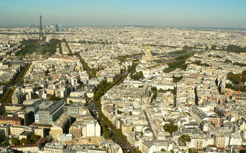 Vue sur Paris à 360°