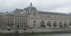 vue du bâtiment du musée d'orsay