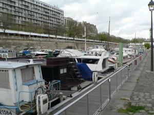 bateaux qui ont jeté l'ancre