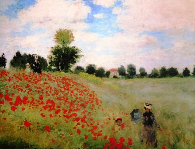 Claude Monet (1840-1926) - Coquelicots, 1873