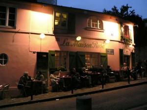 La maison rose, bar restaurant de Montmartre
