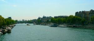 vue du musée d'orsay et de la seine