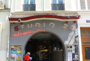 Cinéma rue Tholoze montmartre
