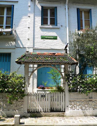 Villa Léandre, Montmartre