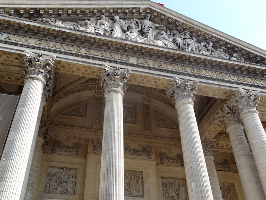 facade pantheon paris