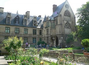 vue du jardin et du musée du moyen-âge