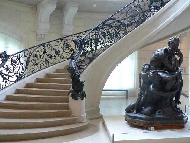 Niveau inférieur du musée
