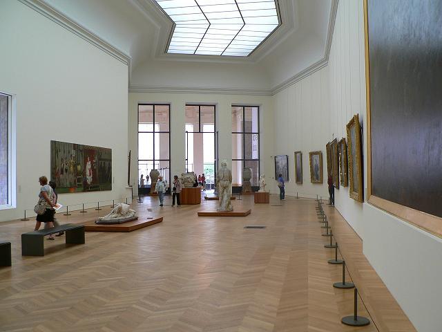petit palais salle d'exposition