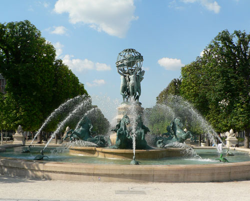Fontaine Carpeaux, jardin des grands explorateurs, Paris
