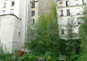 Jardin du 4e arrondissement de Paris