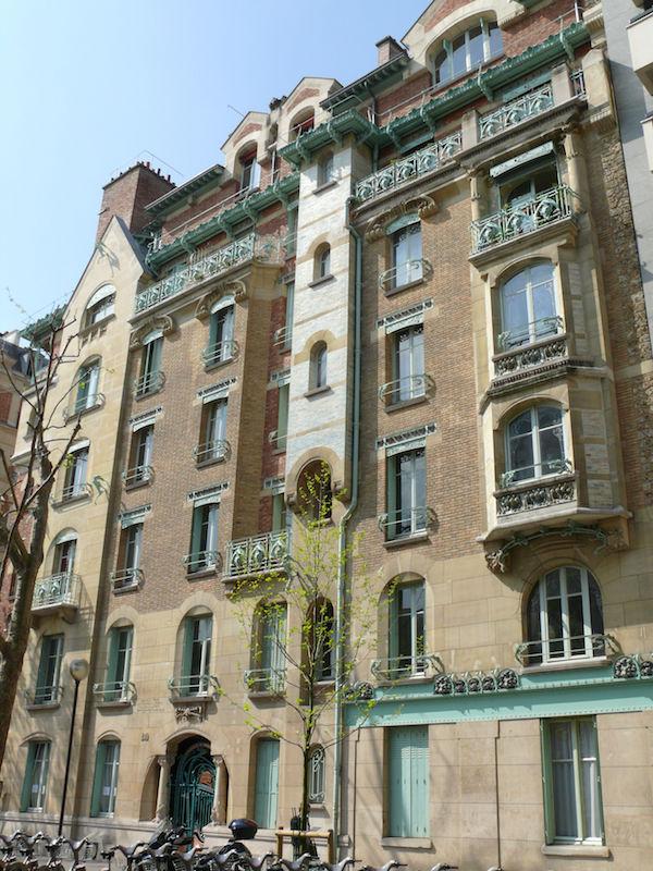 castel beranger immeuble art nouveau