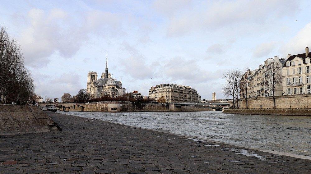 balade quai de seine ile de la cite ile saint louis