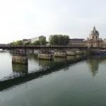 vue du pont, de la seine et de l'institut de France