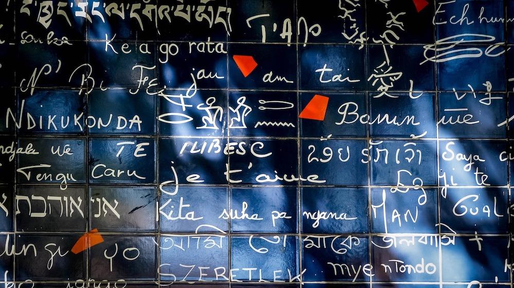 mur des je taime montmartre