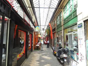Passage couvert dans le 10e arrondissement de Paris