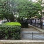 Angle rue Laugier boulevard Pereire