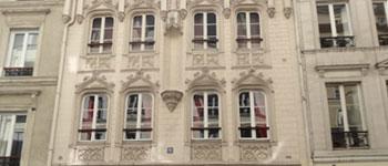 façade de l'ancienne maison close du 9 rue de navarin