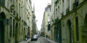 rue sur l'île de la cité, Paris