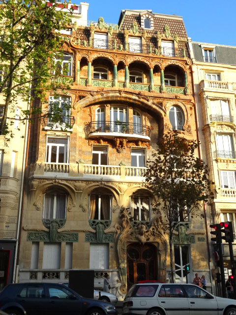 art nouveau buildings in paris un jour de plus à paris
