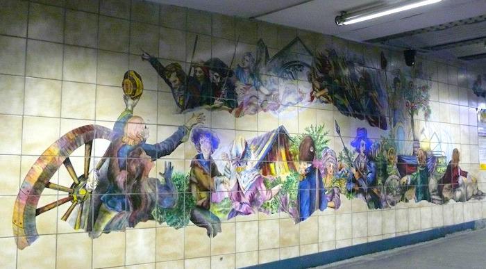 metro bastille paris