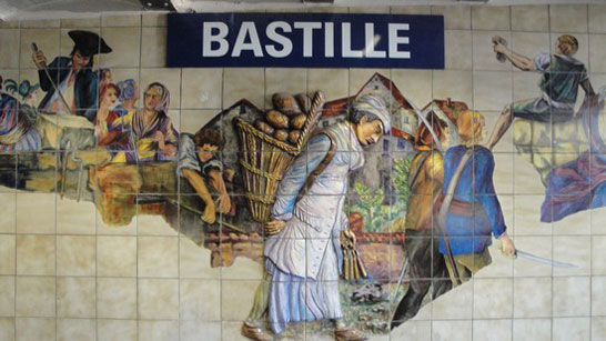station bastille paris