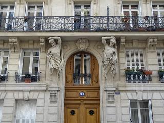façade du bâtiment, paris 16