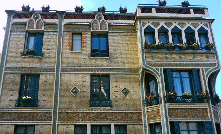 ambassage algerie rue boileau paris