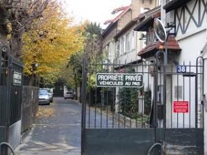 propriété privée rue boileau