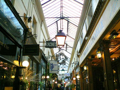 passage couvert de Paris