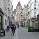 Vue de la rue Saint-Blaise et de l'Eglise Saint-Germain-de-Charonne