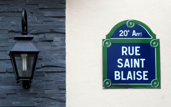 rue saint-blaise, Paris