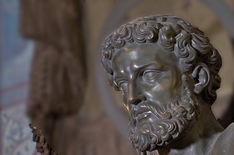 eglise saint germain des pres statue