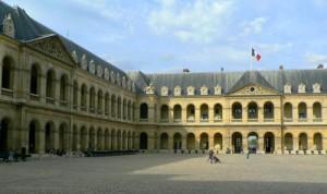 cour de l'Hôtel des Invalides