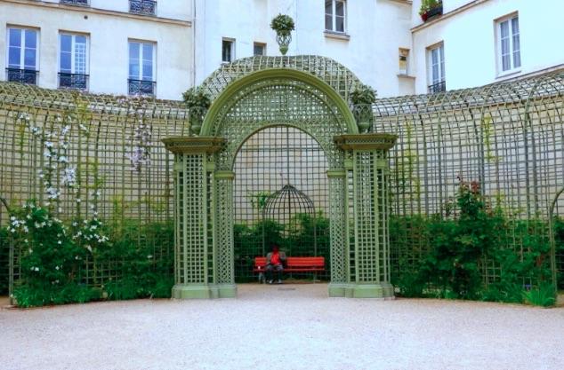 jardin anne frank paris