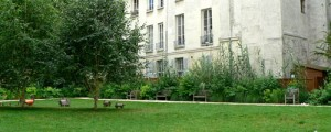 jardin rue des francs bourgeois