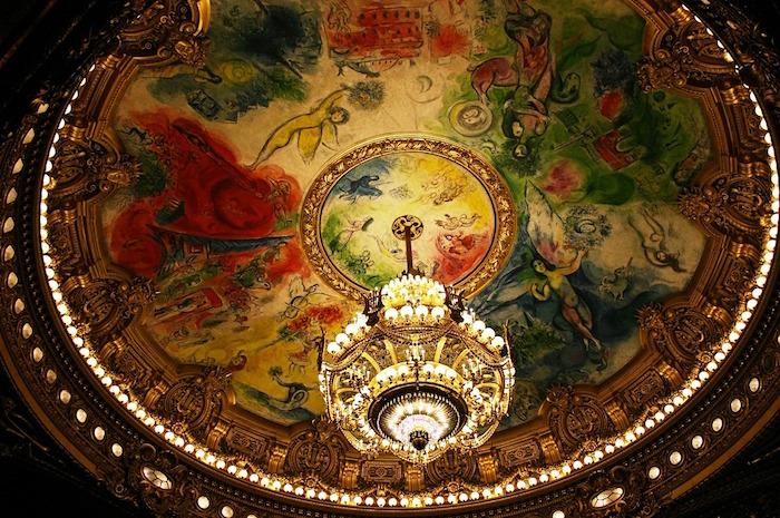plafond chagall garnier