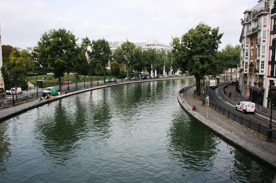 canal saint martin 10e arrondissement