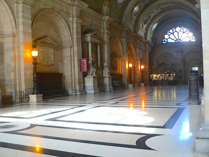 photo salle des pas perdus palais justice paris