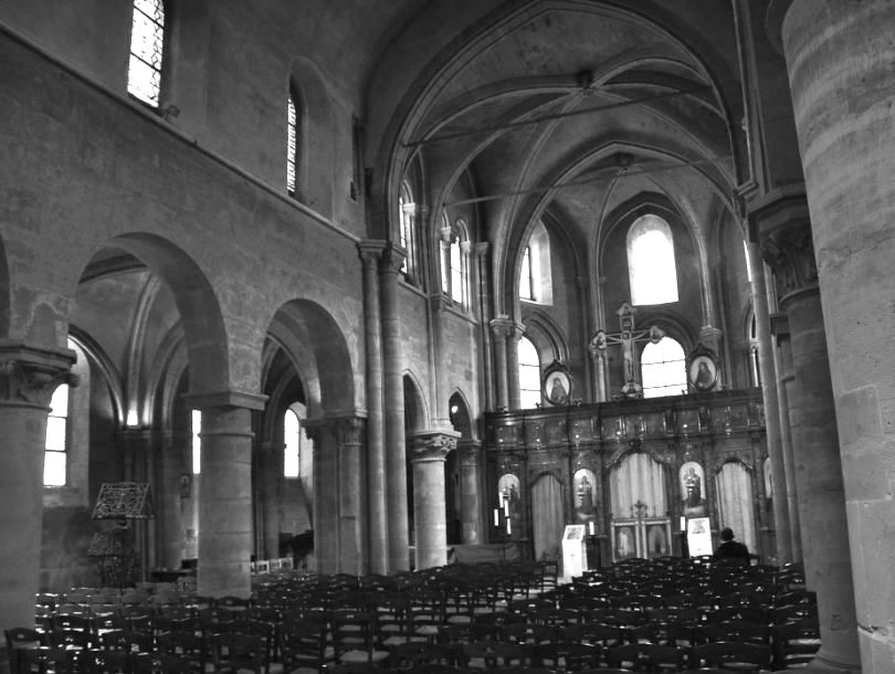 eglise st julien le pauvre paris