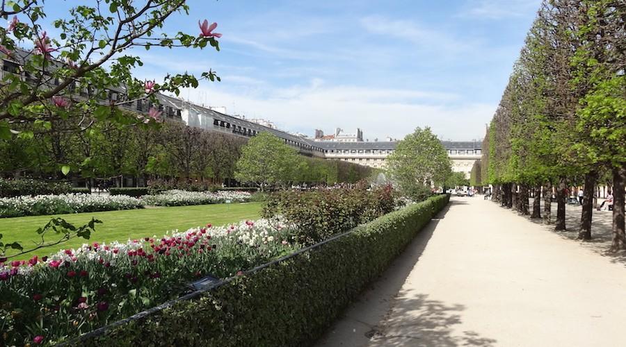 Jardin du palais Royal | Un jour de plus à Paris
