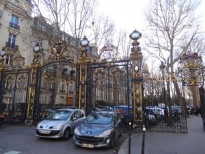 rue vélasquez et parc monceau