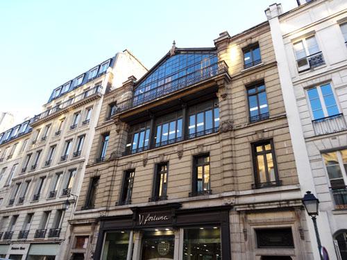 Immeuble en pierre de taille construit en 1898