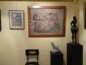 tableaux et sculptures