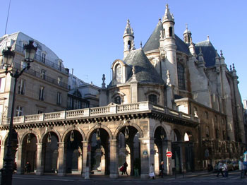 Galerie-terrasse rue de Rivoli